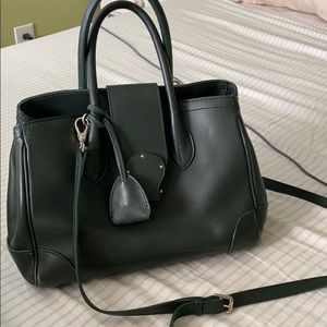 Ralph Lauren soft Ricky small leather tote bag